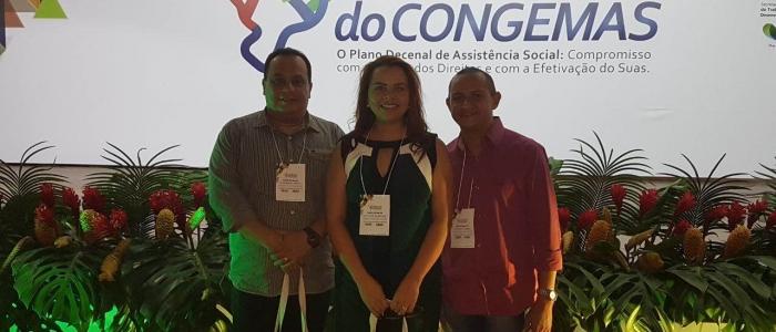 Equipe de Goianinha participa do XIX Encontro Nacional do CONGEMAS na Bahia