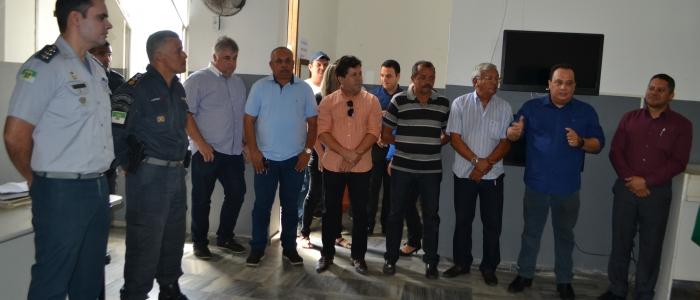 Autoridades participam de transmissão de comando da Polícia Militar em Goianinha