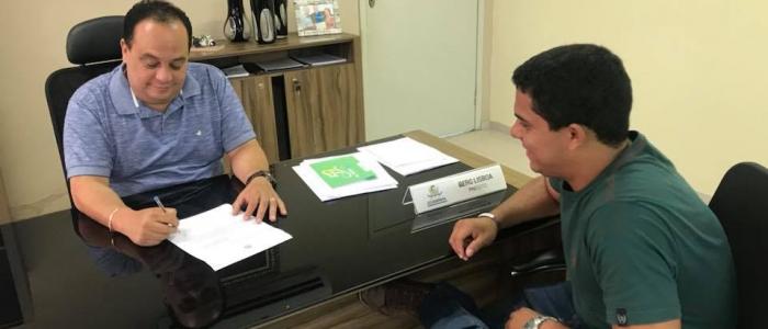 Prefeitura de Goianinha e Governo Federal celebram convênio para implantação de programa voltado ao Esporte