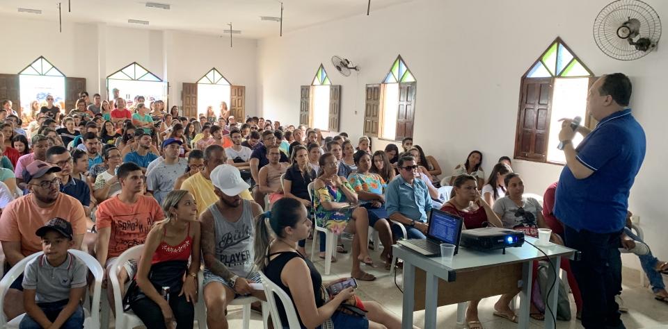 Prefeitura de Goianinha se reúne com usuários do transporte escolar intermunicipal
