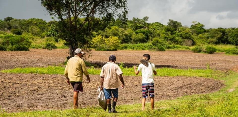 Agricultores de Goianinha recebem terras para plantio
