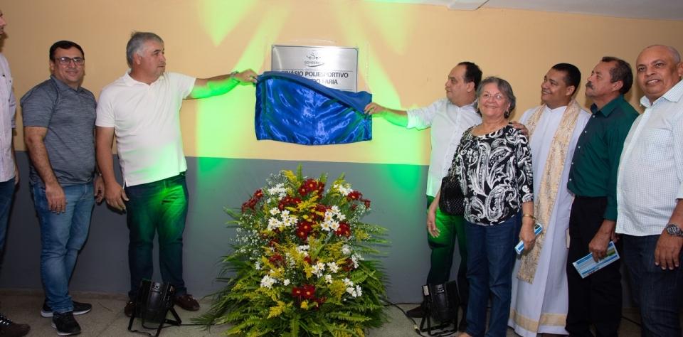 Goianinha recebe reforma do Ginásio e novos carros para a Saúde