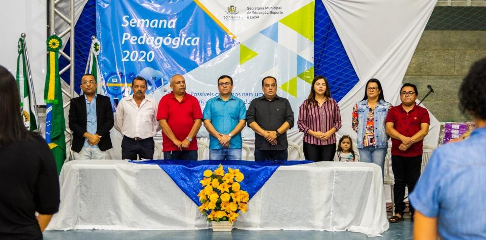 Secretaria de Educação realiza abertura da Semana Pedagógica 2020