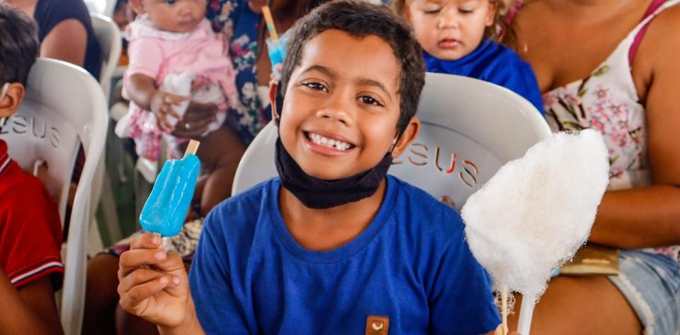 Prefeitura promove atividades aos usuários dos serviços socioassistenciais em comemoração ao Dia das Crianças