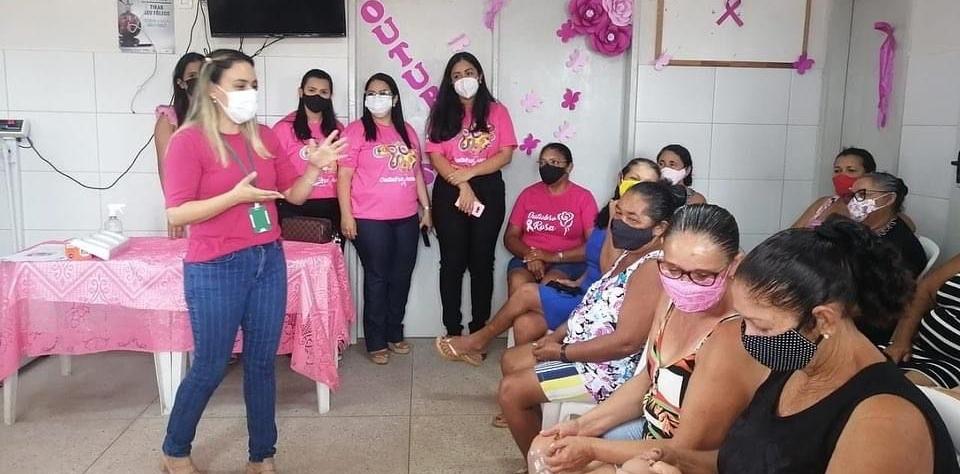 NASF e Atenção Primária em Saúde realizam roda de conversa em alusão ao Outubro rosa